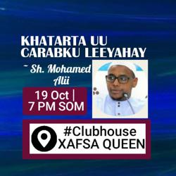 Queen fatima mohamed Clubhouse