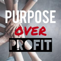 PURPOSE OVER PROFIT Clubhouse
