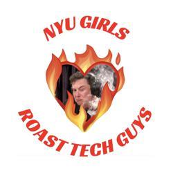 NYU girls roasting tech guys Clubhouse