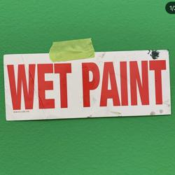WET PAINT Clubhouse