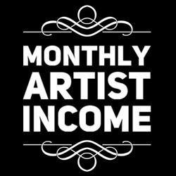 MONTHLY ARTIST INCOME Clubhouse