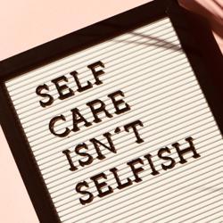 Self Care Isn't Selfish Clubhouse
