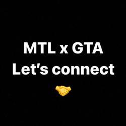 MTL x GTA Let's connect! (Music Biz) Clubhouse