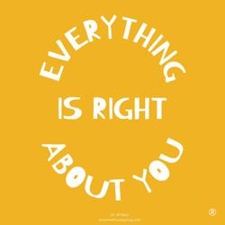EVERYTHING IS RIGHT Clubhouse